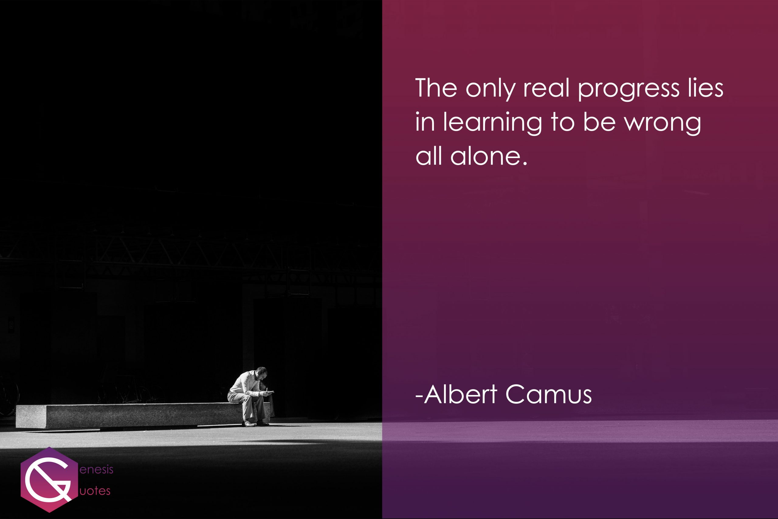 Albert Camus- Alone Quotes