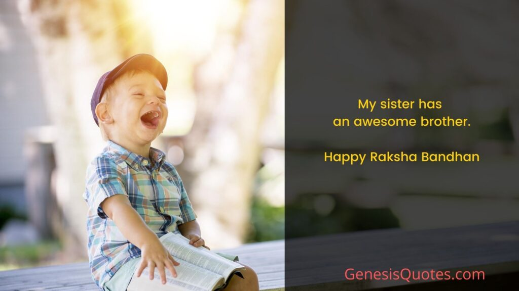 Rakhi Quotes For Sisters